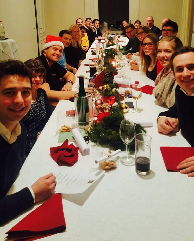 Weihnachtsfeier Heilbronn.Rotaract Distrikt 1830